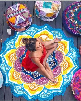 indian-mandala-lotus-beach-towel