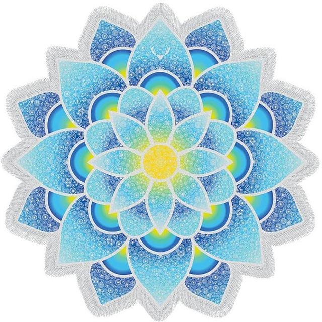 bohemian-mandala-lotus-beach-towel-ocean-blue