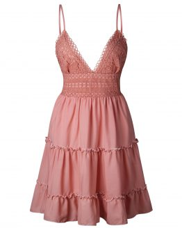 australian-summer-lace-sundress-mini-pink