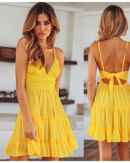 australian-summer-lace-sundress-mini-yellow