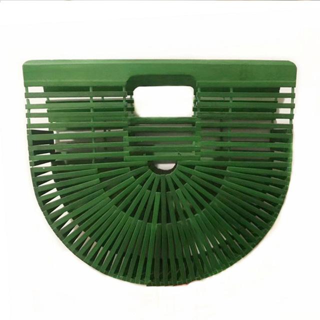 handmade-bali-bamboo-fan-tote-handbag-green