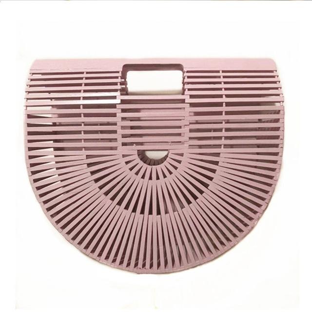 handmade-bali-bamboo-fan-tote-handbag-pink
