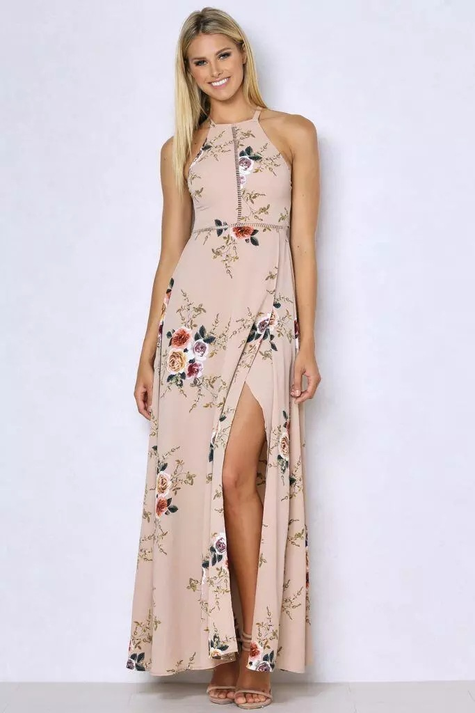 australian bohemian chic garden party maxi dress - Garden Party Dress