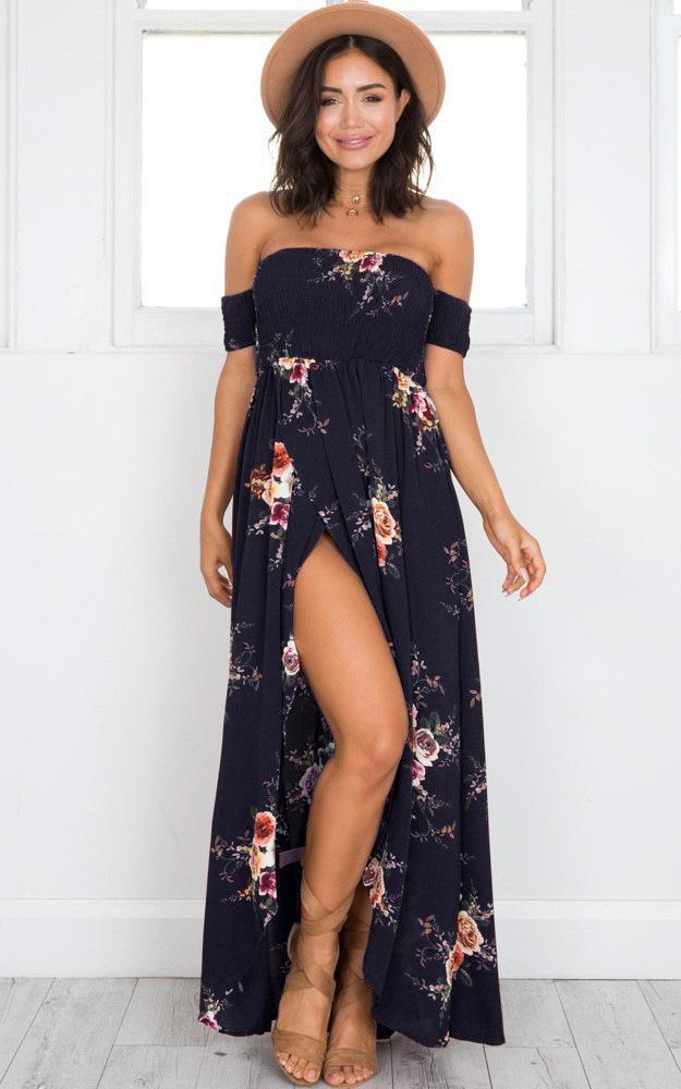 bohemian-australian-style-long-beach-floral-maxi-dress-navy
