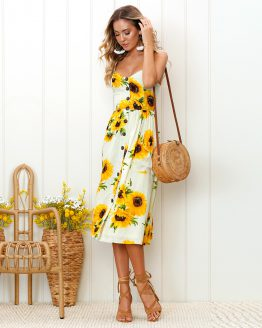 sophie-party-midi-sundress-sunflower-field